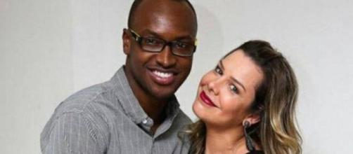 Fernanda Souza e Thiaguinho continuam amigos. (Arquivo Blasting News)