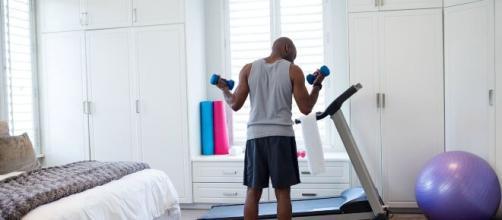 Importância de manter uma rotina de treinos na quarentena. (Arquivo Blasting News)