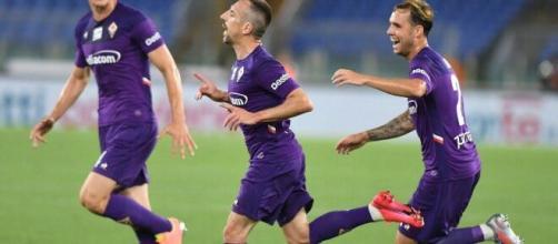 La joie de Ribery hier après son superbe but.