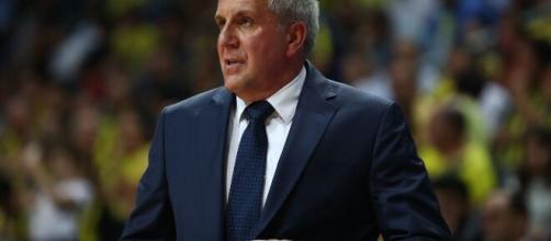 L'ormai ex coach del Fenerbahce Zeljko Obradovic.