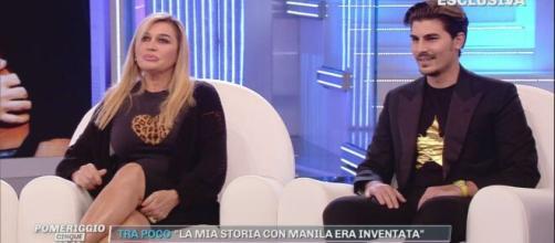 Lory Del Santo e Marco Cucolo.