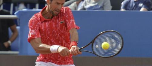 Positive COVID-19 test cancels Novak Djokovic's exhibition - (Image via CBSSports/Youtube)