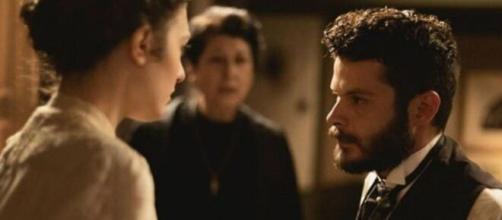 Una vita, anticipazioni del 25 giugno: Lucia terrorizzata da Eduardo, lascia per sempre Telmo.