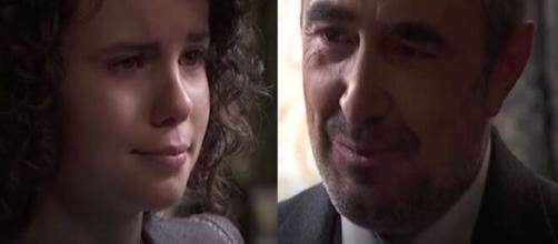 Una vita, spoiler Spagna: Ramon si separa a malincuore di nuovo da Milagros.