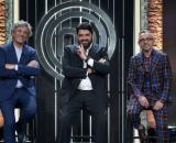 Giorgio Locatelli, Antonino Cannavacciuolo e Bruno Barbieri, sono i tre giudici di Masterchef Italia.