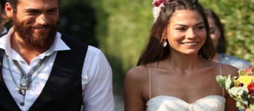 Daydreamer, anticipazioni turche: Can e Sanem si sposano e diventano genitori di tre figli.