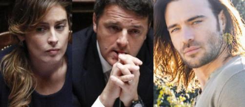 Matteo Renzi avrebbe detto a Boschi di non gradire la sua esposizione mediatica per motivi legati al gossip.