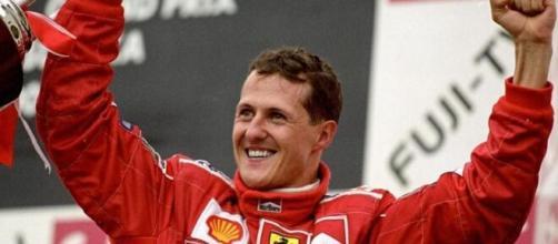 Michael Schumacher, ex pilota di Formula 1.