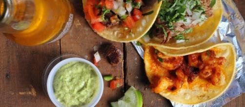 Tacos messicani una ricetta per i vegetariani.
