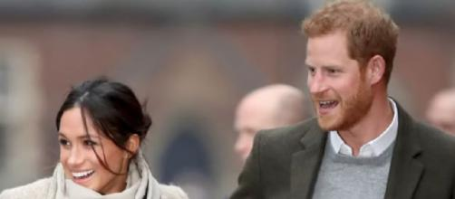 This is the new life of Prince Harry and Meghan Markle. [Image source/Nicki Swift YouTube video]