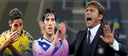 Calciomercato Inter: sarebbero ad un passo Tonali e Hakimi (Rumors).