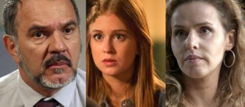Germano é o pai de Eliza, em 'Totalmente Demais'. (Foto: Montagem/Globo).