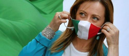 Giorgia Meloni leader di Fratelli d'Italia.