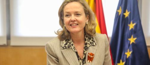 Nadia Calviño, PSOE, tiene muchas posibilidades de estar al frente del Eurogrupo
