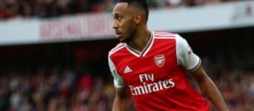 Pierre Aubameyang, punta dell'Arsenal.