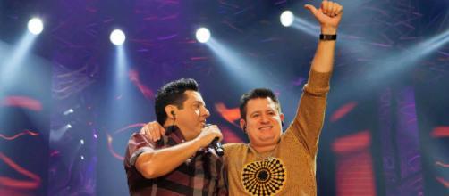 Dupla Bruno e Marrone em show. (Arquivo Blasting News)