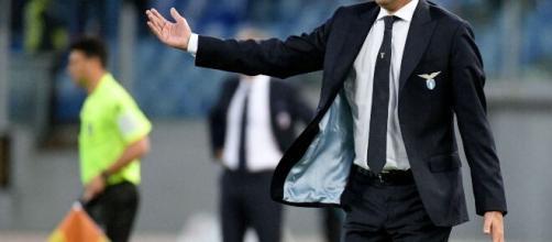 Il tecnico della Lazio Simone Inzaghi.