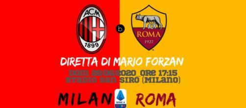 Serie A: La prima gara della domenica è tra Milan e Roma alle 17:15