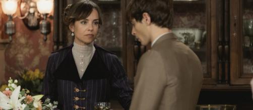 Una Vita, anticipazioni spagnole: Felicia ordina al figlio Emilio di lasciare Cinta.