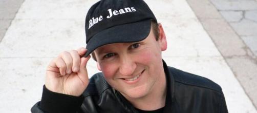 Blue Jeans escritor en una imagen de archivo