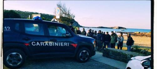 I migranti sono stati intercettati dai Carabinieri.