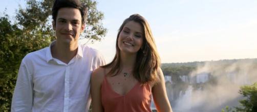 Mateus Solano e Camila Queiroz brilharam na novela. (Reprodução/TV Globo)