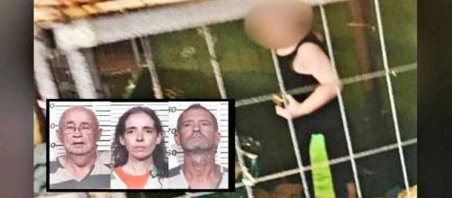 Nella Contea di Henry un bambino di 18 mesi viveva chiuso in una gabbia per cani; arrestati il padre, la madre e il nonno.
