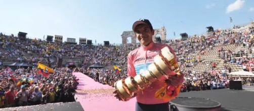 Richard Carapaz, vincitore dell'ultimo Giro d'Italia.
