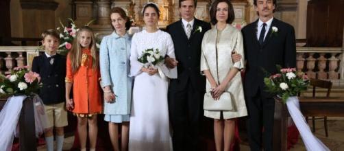 Si è spenta Vittoria De Paoli (nella foto una scena della fiction 'Di padre in figlia', la ragazza è la seconda da sinistra)