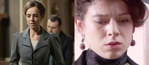 Una vita, spoiler Spagna: Velasco prova a soffocare Genoveva, Marcos rapisce Felicia.