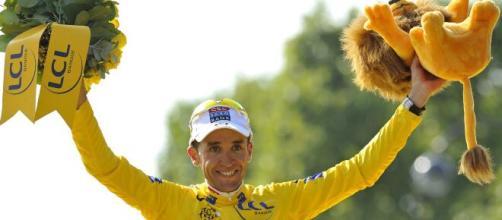 Carlos Sastre, vincitore del Tour de France 2008.