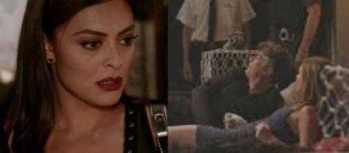 Em 'Totalmente Demais', Carol irá ver Arthur e Eliza Juntos, e sairá da casa do empresário com lágrimas. (Fotomontagem/TV Globo)