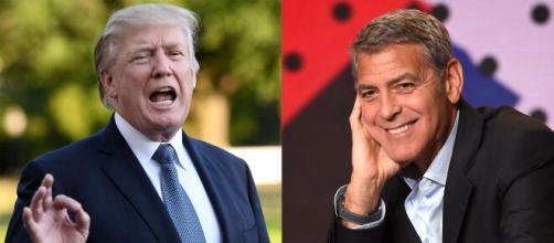 George Clooney no es la primera vez que se levanta contra Donald Trump.