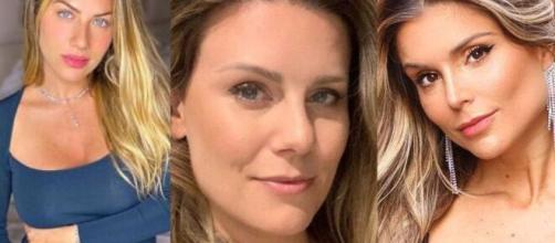 Giovanna Ewbank, Daiana Garbin e Flavia Viana são algumas das famosas grávidas neste período. (Foto: Montagem/Instagram).