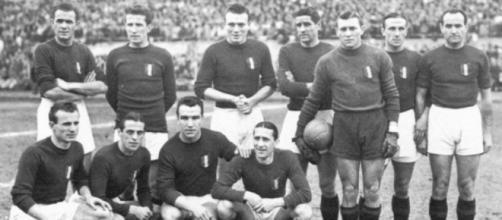 Il Torino campione d'Italia nella stagione 1945/46.
