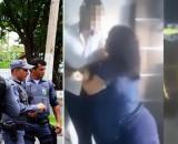 Mulher apresentou agressividade e reagiu à prisão. (Fotomontagem)