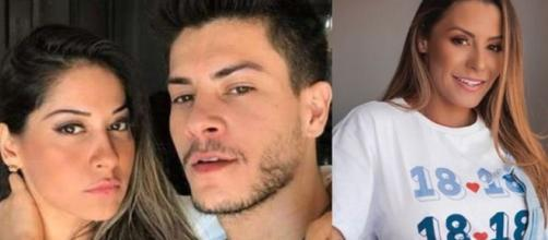 Arícia Silva seria pivô da separação de Mayra Cardi e Arthur Aguiar. (Arquivo Blasting News)