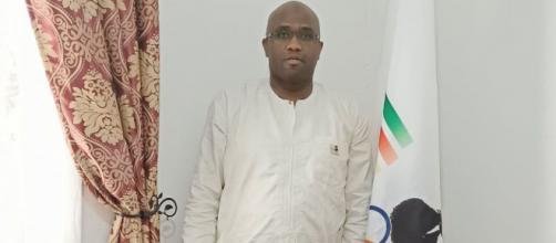 Dr Evele Malik Atour, Président du Comité National Pierre de Coubertin pour le Cameroun (c) Atour malik Evele