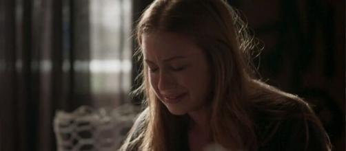 Eliza irá sofrer nas próximas semanas em 'Totalmente Demais'. (Reprodução/TV Globo)