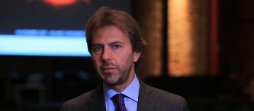 Francesco Giorgino, opinionista, giornalista e conduttore del TG1.