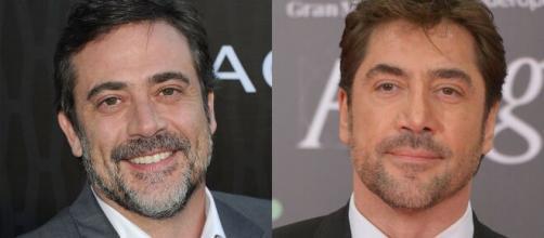 Javier Bardem e Jeffrey Dean Morgan são muito parecidos. (Arquivo Blasting News)
