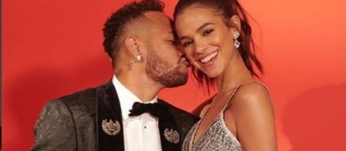 Neymar e Bruna Marquezine formaram um casal badalado por muito tempo. (Arquivo Blasting News)
