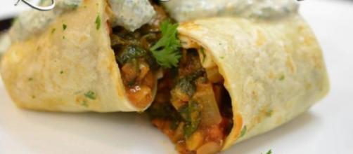 Tasty lentil burrito recipe - [Source: Laurie's Kitchen - YouTube]