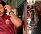 Ex de Hulk Paraíba ironiza post do atleta sobre 'a lei do retorno' (Reprodução/Instagram/@hulkparaiba//@iran_angelo)