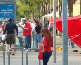 Las jóvenes fueron agredidas por el hecho de promocionar los partidos de Selección Española en televisión.