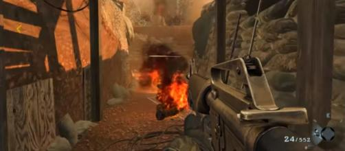 Activision has been striking down the leaked 'Call of Duty' clips over on social media. [Image source: MrDalekJD/YouTube]