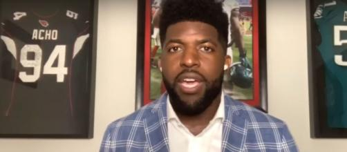Emmanuel Acho is boldly answering the uneasy questions in race relations in his effort to create lasting change.[Image source: CBS/YouTube]