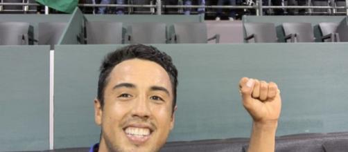 Hugo Dellien, grand espoir du tennis bolivien (Credit : Twitetr Hugo Dellien)