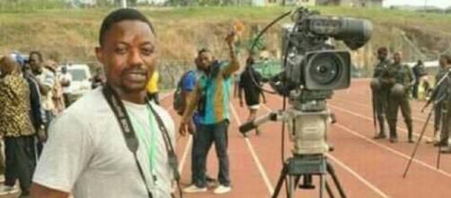 Le journaliste Camerounais disparu Samuel Ajiekah Abuwe (c) Journal du Cameroun