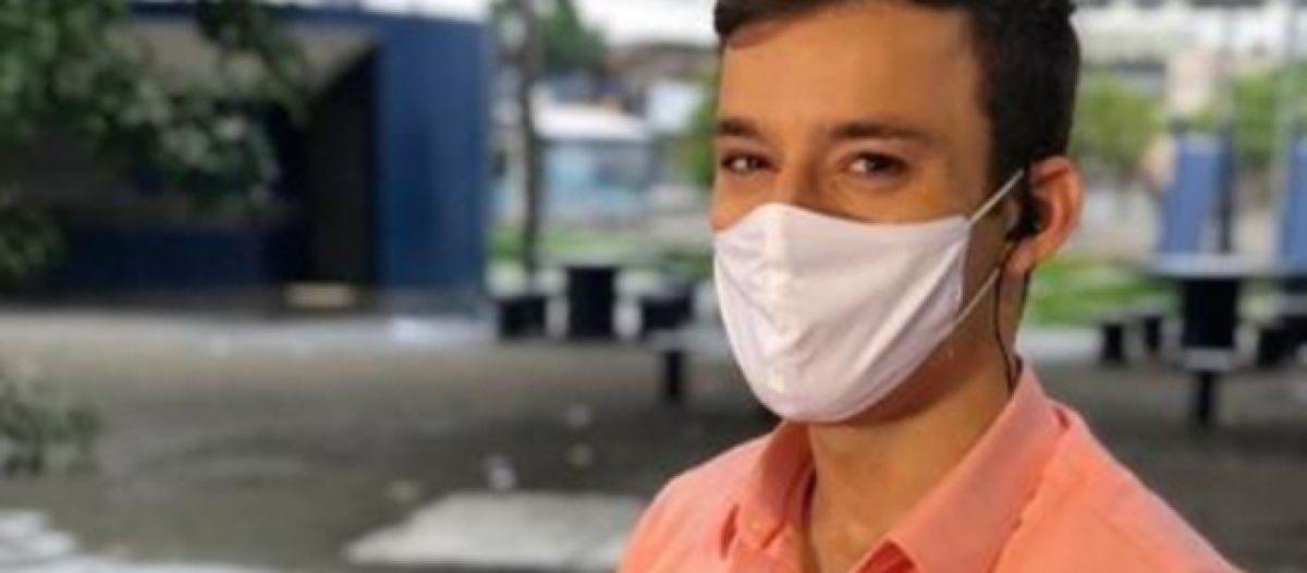 Repórter da Globo, Danilo Cesar sofre agressão durante reportagem em Pernambuco